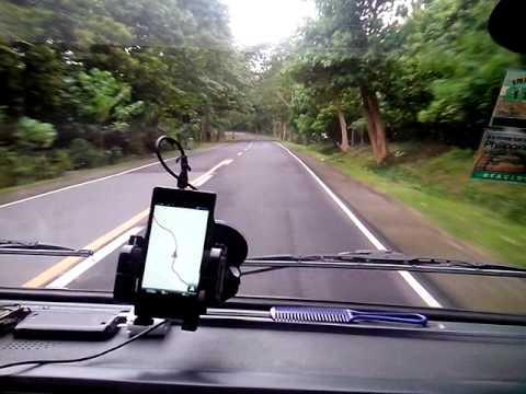 Andaya highway, Ragay Camarines Sur august 2013