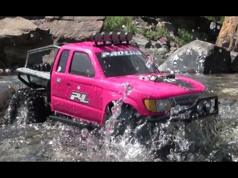Rc Adventures Pinky A Honcho Axial Scx10 4x4 Truck