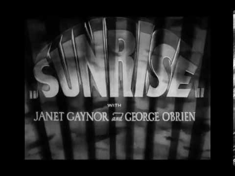 AMANECER (SUNRISE) - Dir. F.W. Murnau - TRAILER