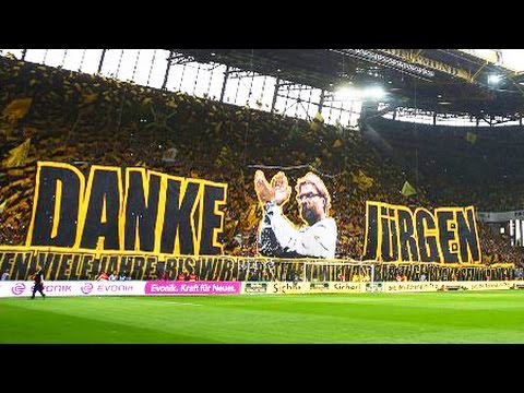 Liverpool S New Manager Jurgen Klopp Says Goodbye To Dortmund Fans In Emotional Farewell Youtube