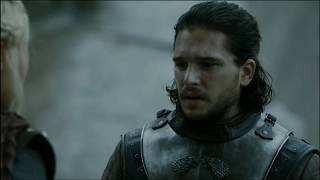 Jon Snow emotional farewell to Daenerys, FULL SCENE | HD