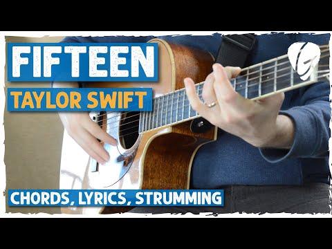 Fifteen Guitar Chords Taylor Swift Khmer Chords