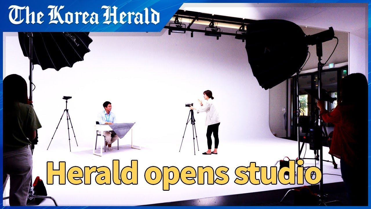 [ENG sub] Herald Corp. opens video studio to drive up digital strategy