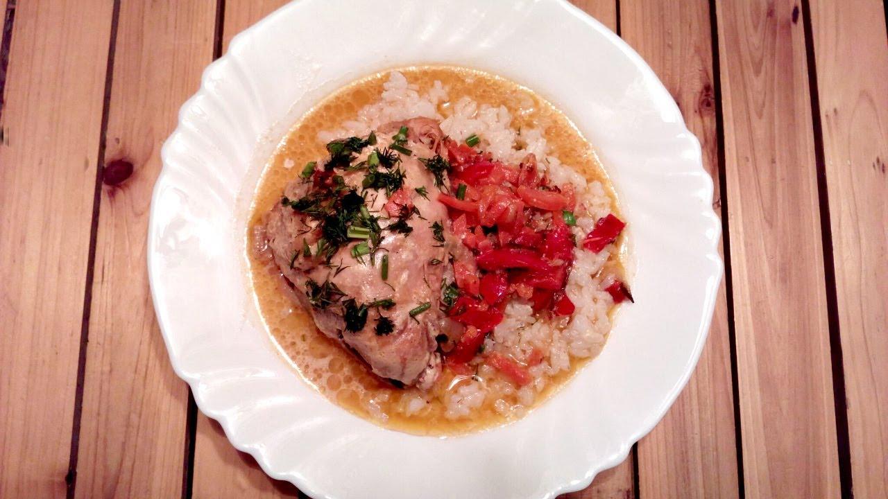 Куриные бедрышки в сметанном соусе с укропом! Нежное блюдо!