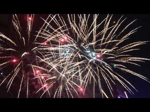 Colorado Rockies Independence Day Fireworks after the Baseball Game 2017