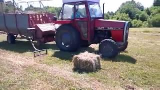 Hidraulični priključak za utovar bala, Hydraulic loader for square bale
