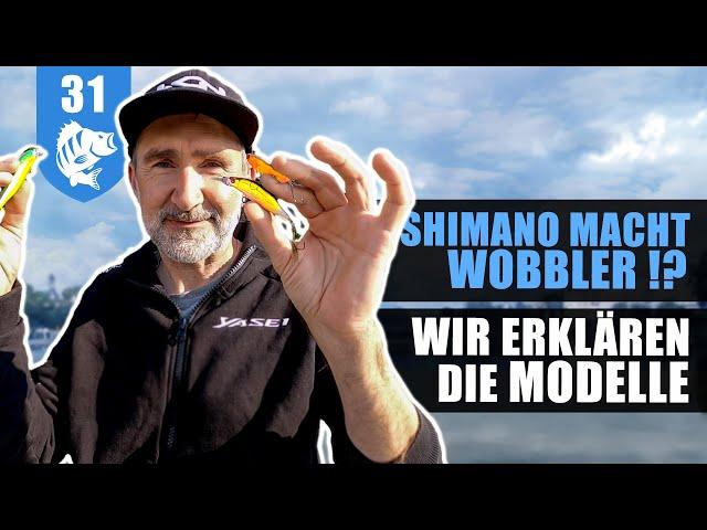 Die NEUEN Shimano-WOBBLER im Barsch Test ! (MIT GEWINNSPIEL)