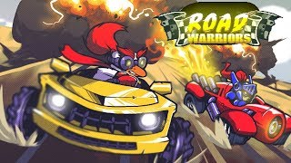 ROAD WARRIORS Multiplayer Battle Racing Android / iOS Gameplay Video