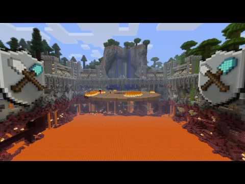 Minecraft: PlayStation®4 Edition ЭПИК Батл !!! +!+