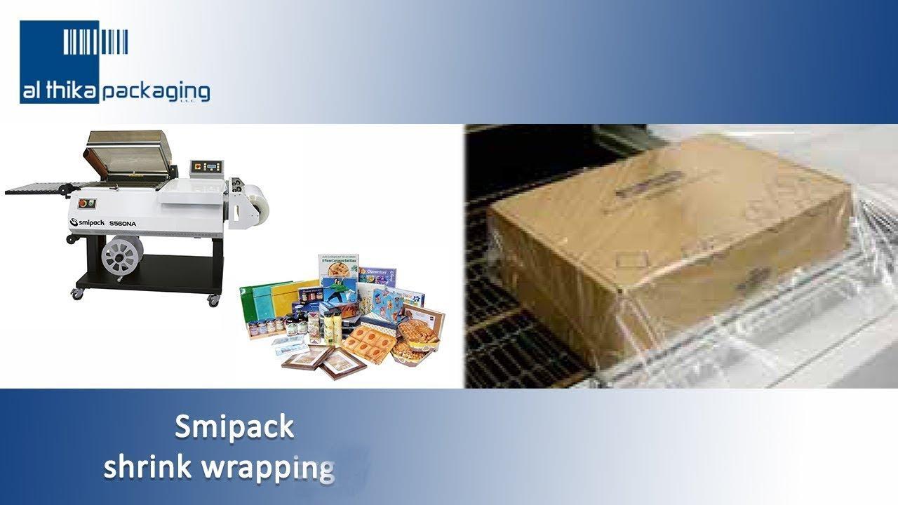 Smipack shrink wrap, packing, sealing machine, Al Thika Packaging UAE