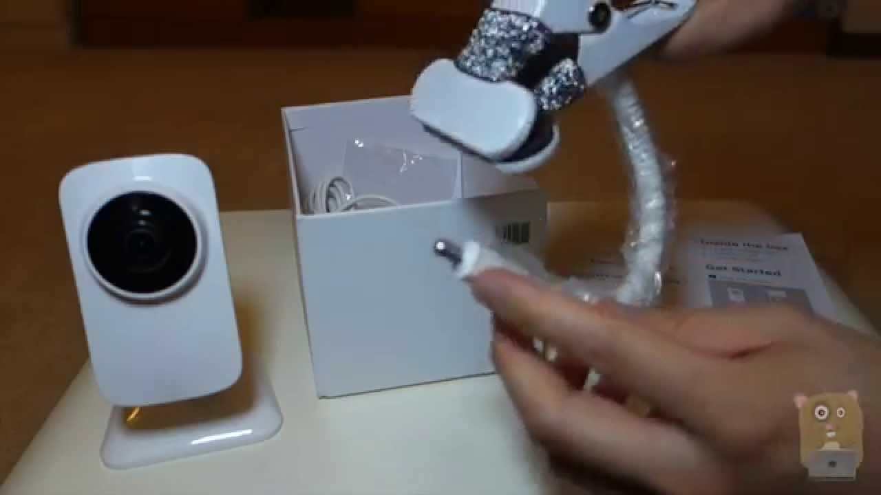 gynoii smart baby monitor unboxing youtube. Black Bedroom Furniture Sets. Home Design Ideas