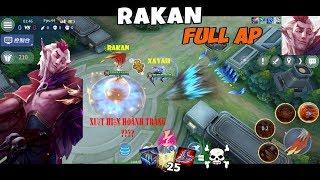 LoL Mobile : Rakan Support Full Ap Siêu gánh Team Với Bộ Kĩ Năng SIÊU KHỐNG CHẾ (Giống LOL PC 100%)