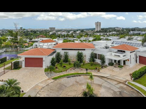 Opulent Designer Estate at Los Paseos – Puerto Rico Sotheby's International Realty – YouTube