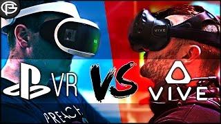 PSVR vs Vive - Which do we prefer?