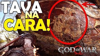 FINAL REVELADO NO INÍCIO!!! - EASTER EGG GOD OF WAR