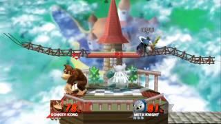 Donkey Kong VS Meta Knight: Super Smash Bros