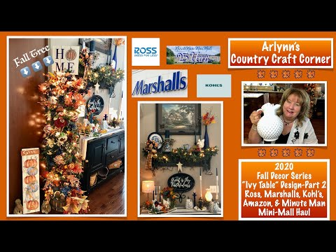 "Kohls Radio 2020 Christmas Playlist 🍁2020 Fall Decor Series""Ivy Table"" Part 2   Ross, Marshalls"