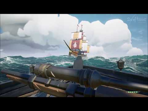 How to sink a Galleon Solo with Captain Black F Law SoT