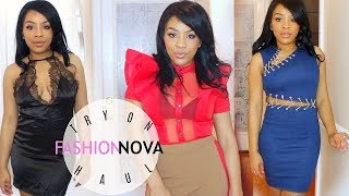 VALENTINE'S DAY 2018 OUTFIT IDEAS |  Fashion Nova Try-On Haul