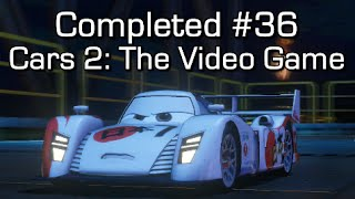Completed #36 - Cars 2: The Video Game