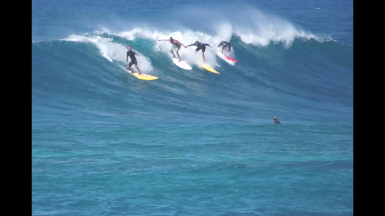 Sunset Beach Surf Whale Watch 022314
