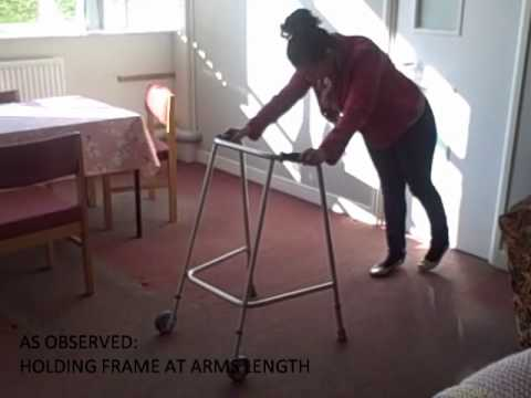 As Observed: How Walking Frames Are Used