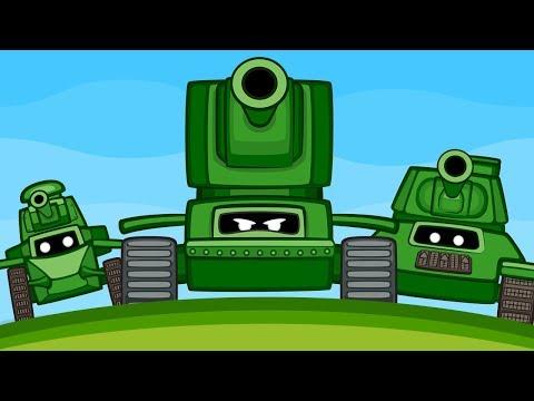 Танки против Мауса | Мультик про танки