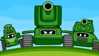 Танки против Мауса [Мультфильм World of Tanks]