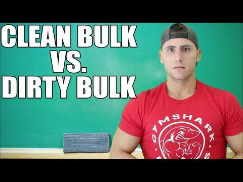 Dirty Bulk – Just When Was It Alright to Eat Junk