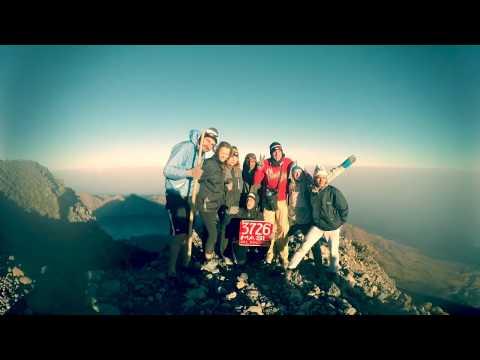 Mt Rinjani Trekking