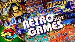 RETRO SLOT GAMES !!! Classic Video Slots IGT & Aristocrat in Casino