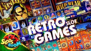 RETRO SLOT GAMES !!! Classic Video Slots IGT & Aristocrat in Casino