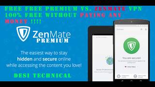 Gambar cover ™How to Get LifeTime Zenmate VPN | Premium | For FREE ??