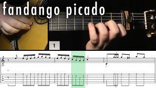 Flamenco Guitar 102 - 24 Fandango Picado