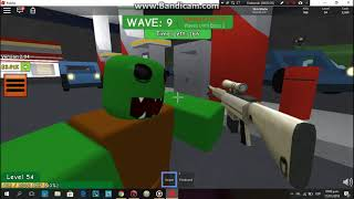 TESTING THE NEW ZOMBIES/Roblox GAME:Zombie Attack-(XBRIAN. Cx