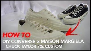 DIY Converse - Chuck Taylor 70s Custom