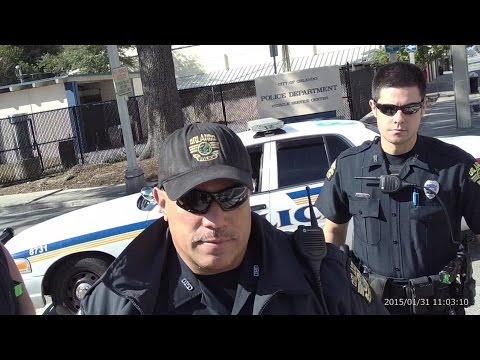 Dash Cam/Orlando Arrest.