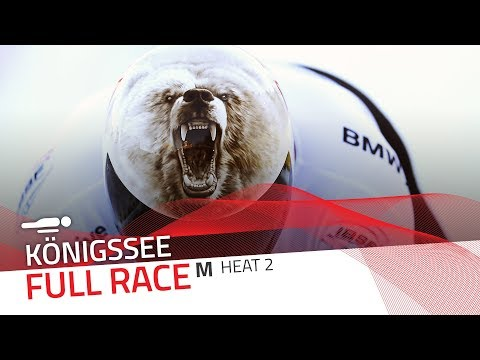 Königssee | BMW IBSF World Cup 2017/2018 - Men's Skeleton Heat 2 | IBSF Official