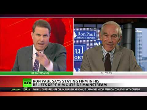 Ron Paul: Trump, Obama, Bush all changed (lied)