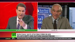 Ron Paul: Trump, Obama, Bush all changed (lied)