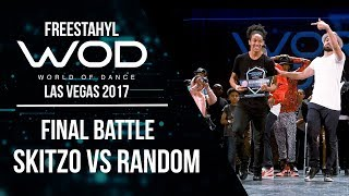 Skitzo vs Random | Freestahyl | FrontRow | World of Dance Las Vegas 2017 | #WODLV17