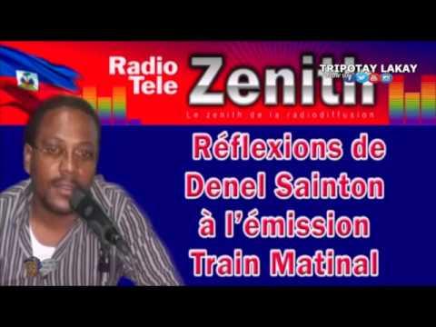 "Denel Sainton, Radio Tele Zenith ""Privert Bay Manti, toujou gen solda DOMINIKEN sou Teritwa a"""
