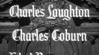 The Paradine Case (1947) -- OPENING TITLE SEQUENCE