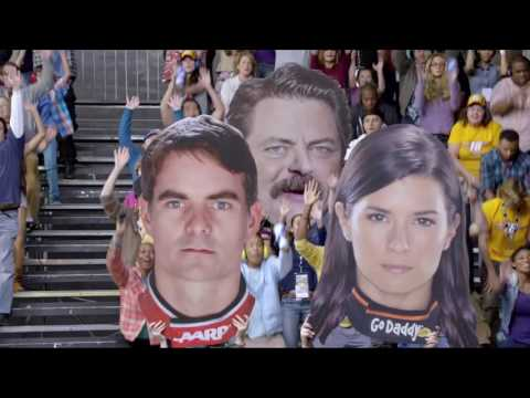 America Start Your Engines NASCAR Nick Offerman