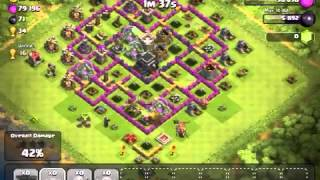 Clash of Clans - Balloon rampage! 40 Five Star balloons!