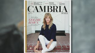 Goldie Hawn Featured On Sun Country Airlines 'Cambria Style' Magazine