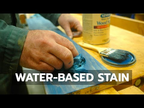Water Based Stain
