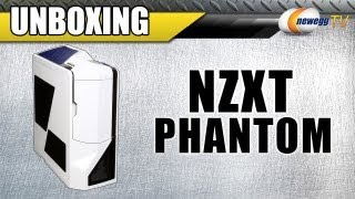 Unboxing: NZXT Phantom PHAN-001WT White Steel - Plastic ATX Full Tower Computer Case