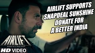 Airlift Supports Snapdeal Sunshine | Donate for a better India | T-Series