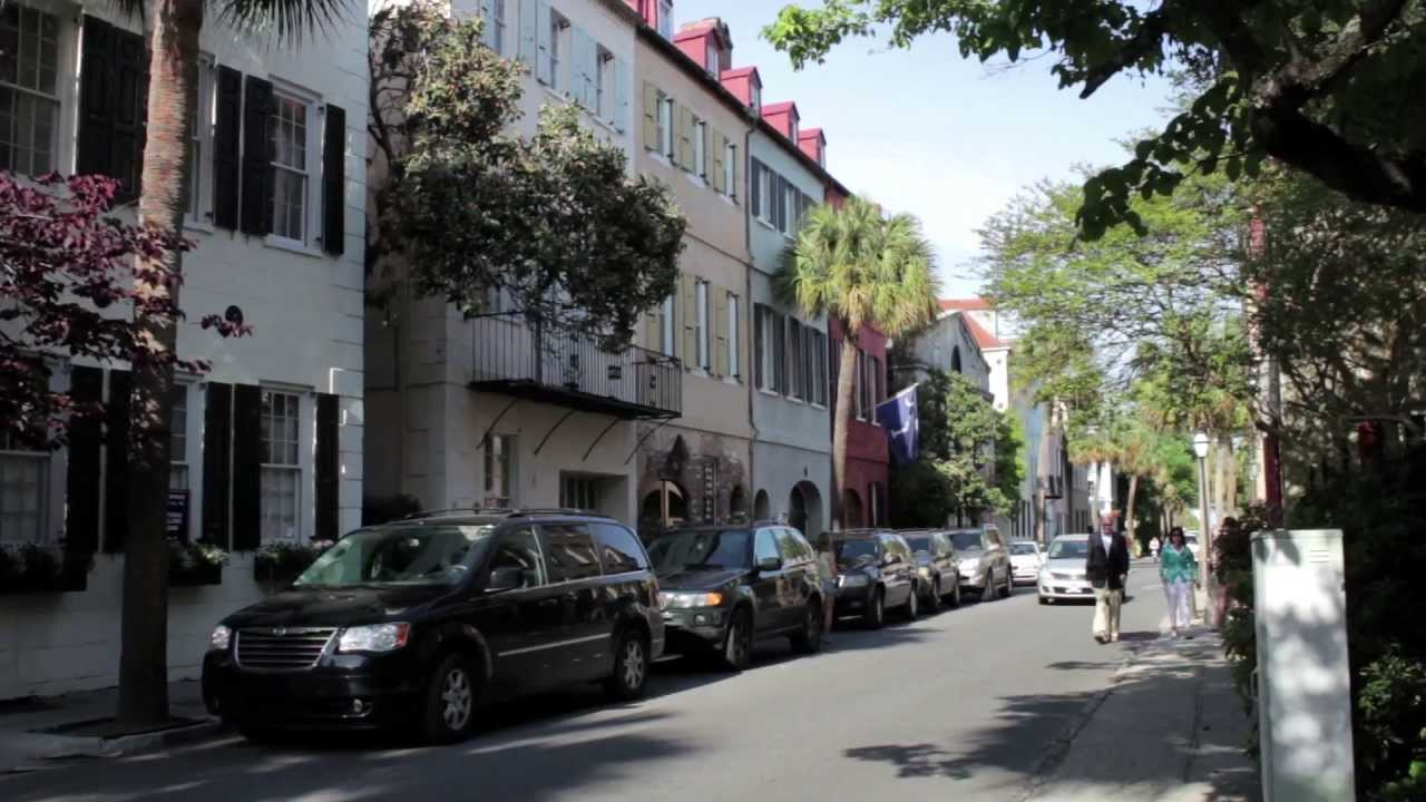 French Quarter Charleston Sc Luxury Homes Youtube